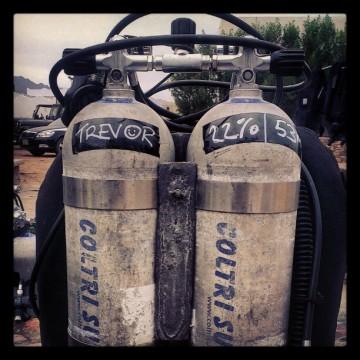 tec twinset tanks