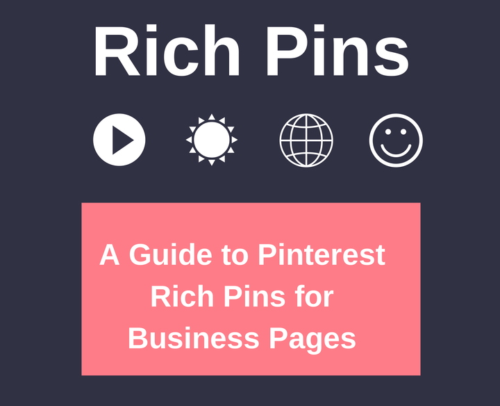 Rich pins for pinterest article