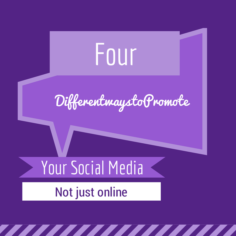 4 different ways to promote Your Social Media