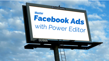 Facebook ad manager power Editor